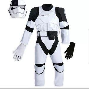 Disney Store Star Wars Deluxe Stormtrooper Sz 5/6